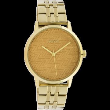 Oozoo Timepieces Oozoo Horloge Goudkleurig/Geel