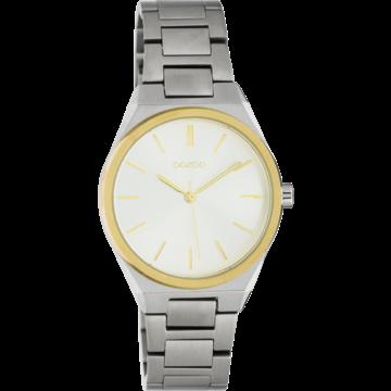 Oozoo Timepieces Oozoo Horloge Zilverkleurig/Goud