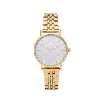 iKKi Horloges IKKI Horloge Rose Goud/Zilver