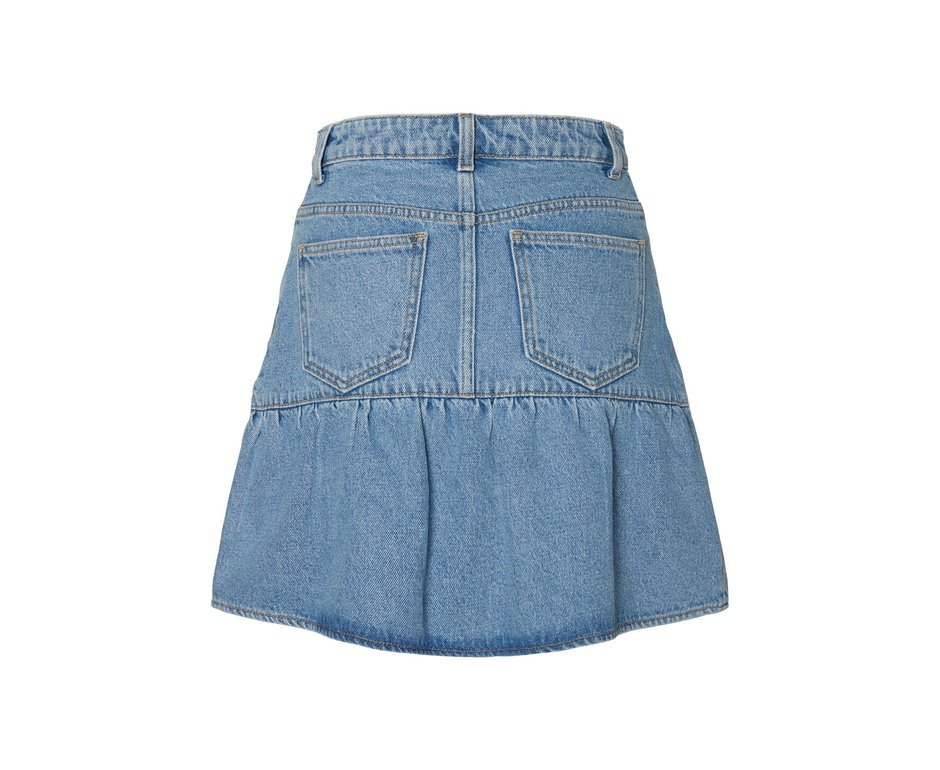 Noisy May NM DINA SKIRT MEDIUM BLUE DENIM