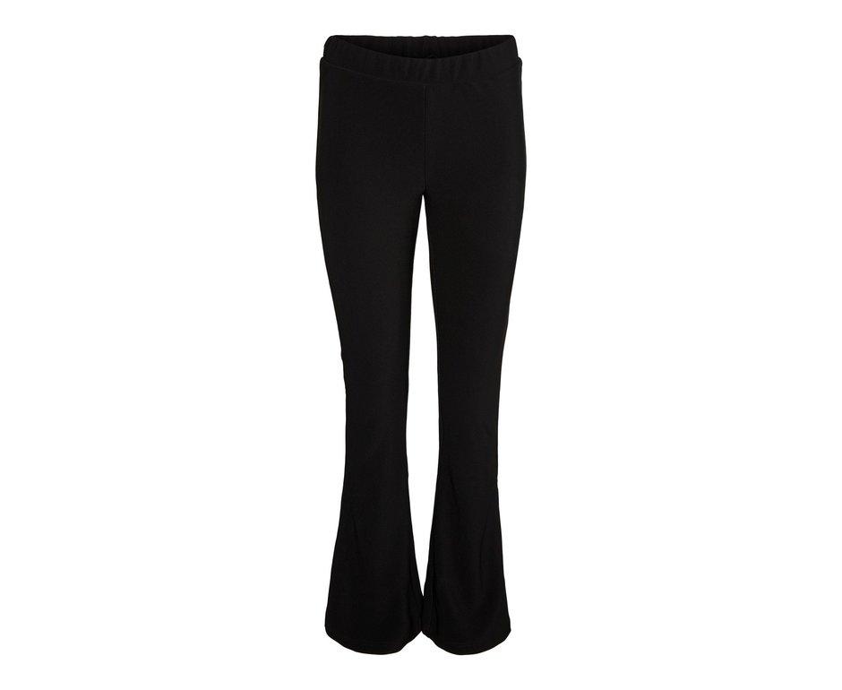 Noisy May Noisy May NM Billie Rib Flared Pants Black