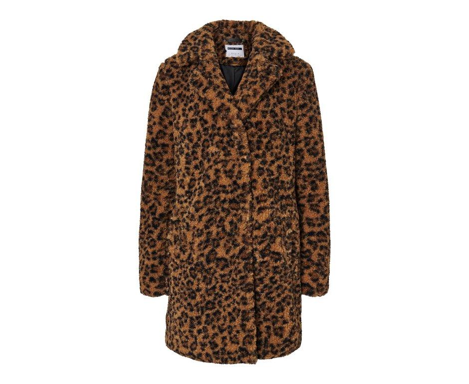 Noisy May NMGABI L/S Jacket Noos Tobacco Brown/Leopard
