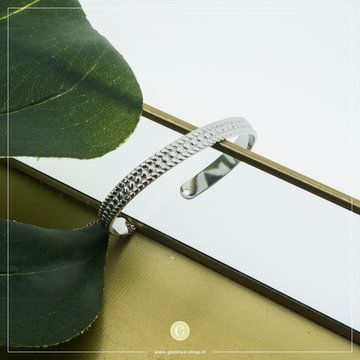 By Jam Gioielli By Jam Zilverkleurige Spang Armband