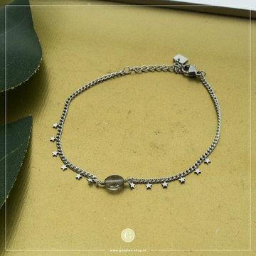 By Jam Gioielli By Jam Zilverkleurige Armband Ster & Crystal