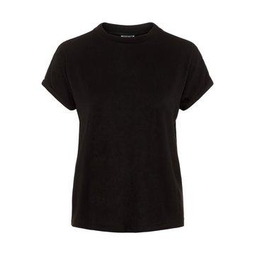 Noisy May Noisy May Basic T-Shirt Zwart