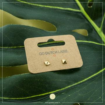 Go Dutch Label GDL Goudkleurige Oorbellen Studs