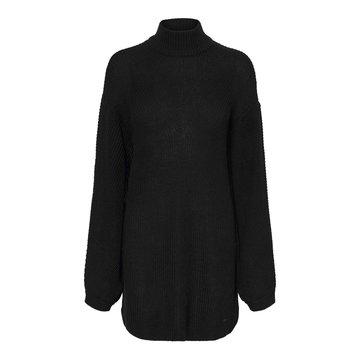 Noisy May Noisy May Gebreide Sweater Dress Zwart