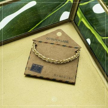 Go Dutch Label GDL Goudkleurige, Speelse Armband