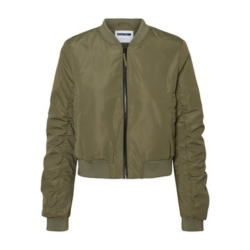 Noisy May Noisy May Korte Bomber Jacket Groen