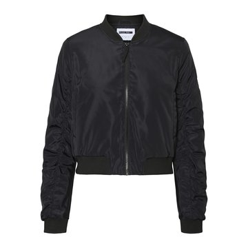 Noisy May Noisy May Korte Bomber Jacket Zwart