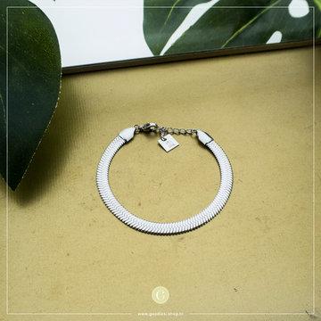 Zag Bijoux Zag Bijoux Zilverkleurige Chain Armband