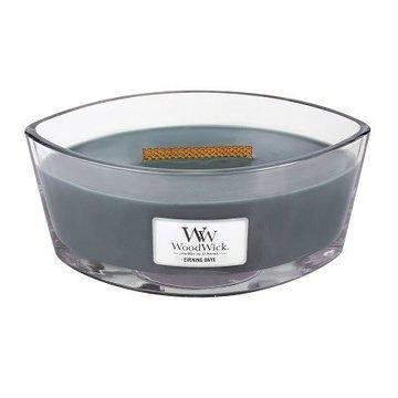 WoodWick WoodWick Evening Onyx Ellipse Candle