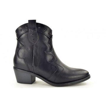 Fabs Shoes Fabs Western Enkellaarsje Zwart
