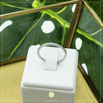 Charmin*s Charmin's Zilverkleurige Basic Ring