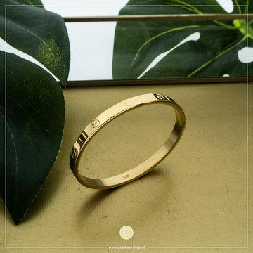 Kalli Kalli Bracelet 2117 6mm Goudkleurig