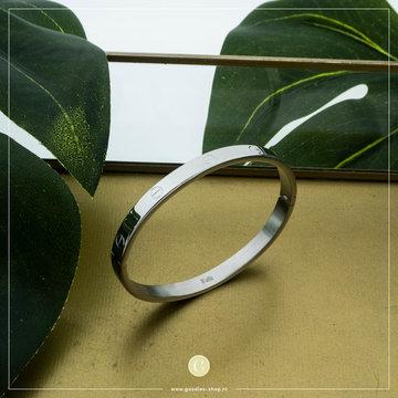Kalli Kalli Bracelet 2117 6mm Zilverkleurig