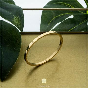 Kalli Kalli Bracelet 2116 4mm Goudkleurig