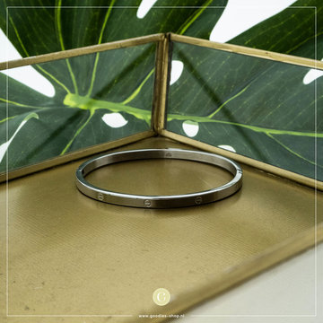 Kalli Kalli Bracelet 2116 4mm Zilverkleurig