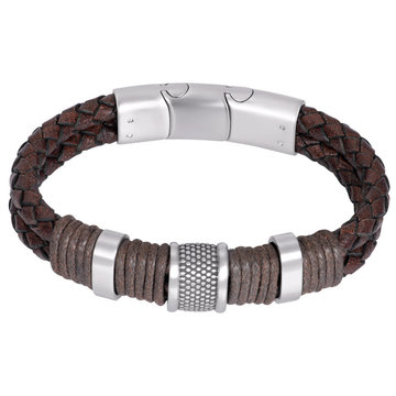iXXXi Men iXXXi Men Bracelet Murphy Mat Zilver