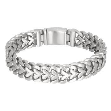 iXXXi Men iXXXi Men Bracelet Monaco Mat Zilver