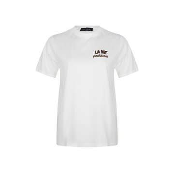 Lofty Manner Lofty Manner Wit T-Shirt La Vie Parisienne
