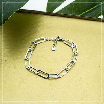 By Jam Gioielli By Jam Zilverkleurige Armband Chain