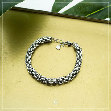 By Jam Gioielli By Jam Zilverkleurige Armband Big Chain
