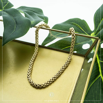 By Jam Gioielli By Jam Goudkleurige Ketting Big Chain