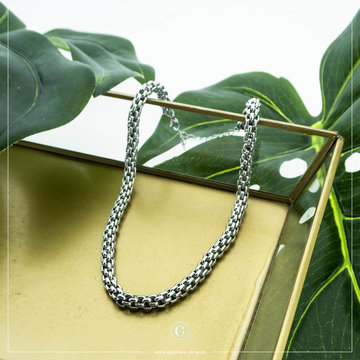By Jam Gioielli By Jam Zilverkleurige Ketting Big Chain
