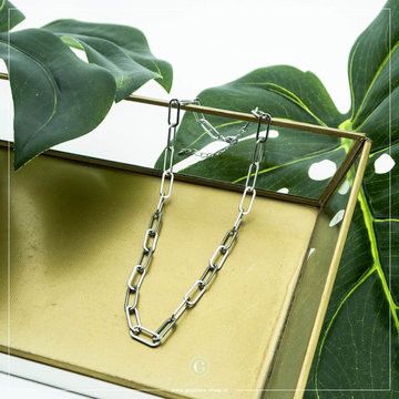 By Jam Gioielli By Jam Zilverkleurige Ketting Chain