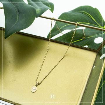 By Jam Gioielli By Jam Goudkleurige Ketting Poolster