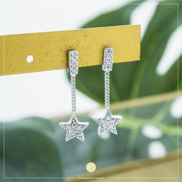 Karma Karma Chainstuds Zirconia Star Zilver