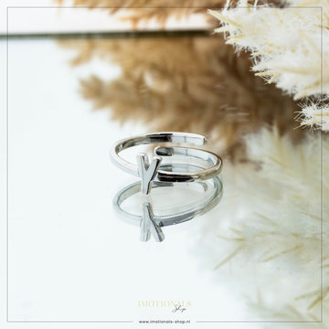 Imotionals Imotionals Initiaal Ring Y Zilver