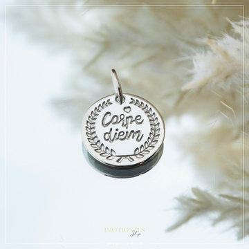 Imotionals Imotionals Coin Hanger Carpe Diem Zilverkleurig