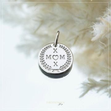 Imotionals Imotionals Coin Hanger Mom Zilverkleurig