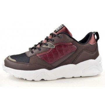 Fabs Shoes Fabulous Fabs Sneakers Burgundy