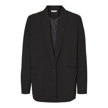 Noisy May Noisy May Oversized Blazer Zwart