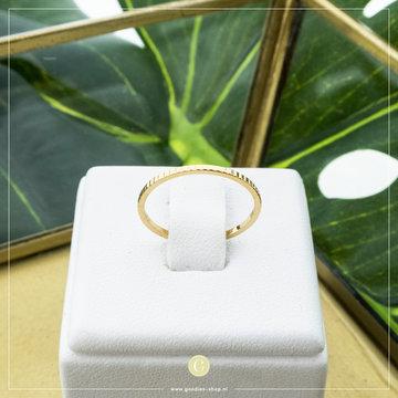 Charmin*s Charmins Ring R740 Goudkleurig