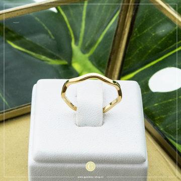 Charmin*s Charmins Ring R829 Goudkleurig
