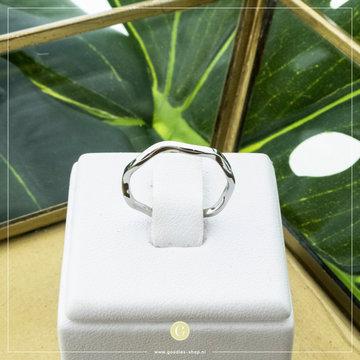 Charmin*s Charmins Ring R828 Zilverkleurig