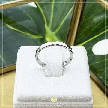 Charmin*s Charmins Ring R837 Zilverkleurig