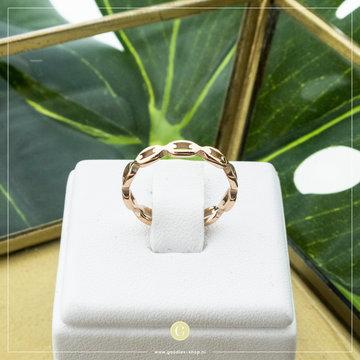 Charmin*s Charmins Ring R836 Rosé Speels Patroon