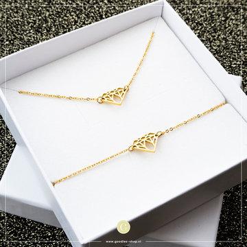 Go Dutch Label GDL Giftset Diamond Goudkleurig