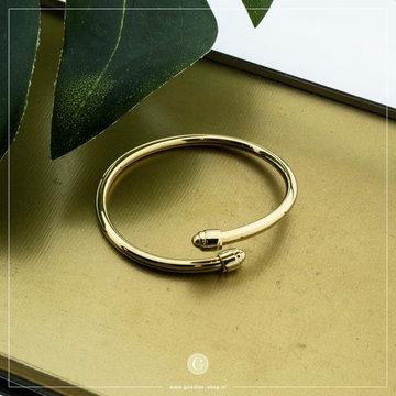 Zag Bijoux Zag Bijoux Armband Bangle Goudkleurig