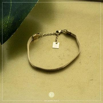 Zag Bijoux Zag Bijoux Bracelet Goudkleurig