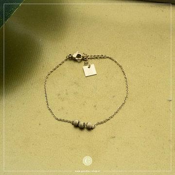 Zag Bijoux Zag Bijoux Armband Glitter Steentjes Goudkleurig