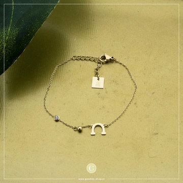 Zag Bijoux Zag Bijoux Armband Details Goudkleurig