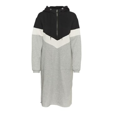 Noisy May Noisy May Sweat Dress Zwart / Grijs