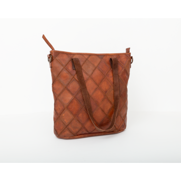 Bag 2 Bag Bag2Bag Madrid Tas Cognac Shopper