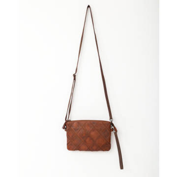 Bag 2 Bag Bag2Bag Madrid Cognac Clutch